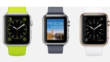 Different ways to tell time on Apple Watch. (Source: Apple)