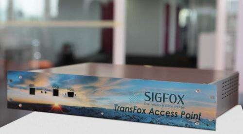 Sigfox has deployed national networks in France and Spain.
