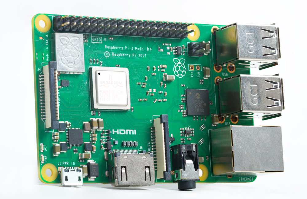 1: Raspberry Pi 3 Model B+ — $35  (Image credit: Raspberry Pi)</p><p>The Raspberry Pi has been around for six years now, and every year, the Foundation introduces a new addition to their family. For 2018, the company launched the Raspberry Pi 3 Model B+, an improved version of its predecessor with some notable new features, which includes a 64-bit quad-core Arm Cortex-A53 SoC (@ 1.4 GHz) outfitted with a metal heat sink to handle the increased 200 MHz over the Pi 3.  The board also features dual-band 802.11ac wireless LAN and Bluetooth 4.2, Gigabyte Ethernet (Over USB 2.0), and PoE support (using a separate PoE HAT). Rounding out the Pi 3 Model B+ is an extended 40-pin GPIO header, full-sized HDMI port, four USB 2.0 ports, CSI camera port, DSI display port, and stereo and composite video ports.   Click here for larger image